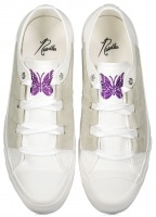 Needles Asymetric Ghille Sneakers - White