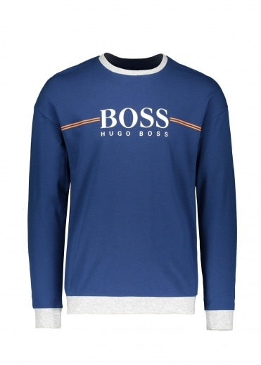 Boss Bodywear Authentic Sweatshirt 438 - Bright Blue