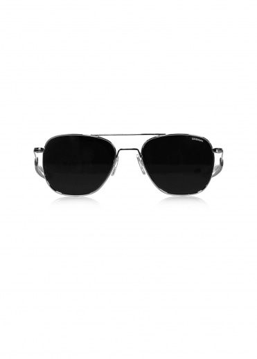 Randolph Aviators Bright Chrome - Grey