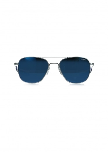 Randolph Aviators Matt Chrome - Blue Sky