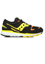 Azura Trainers - Black / Yellow
