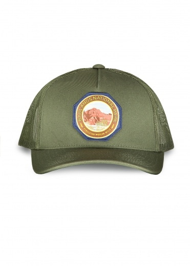 Pendleton Badlands Patch Trucker - Army