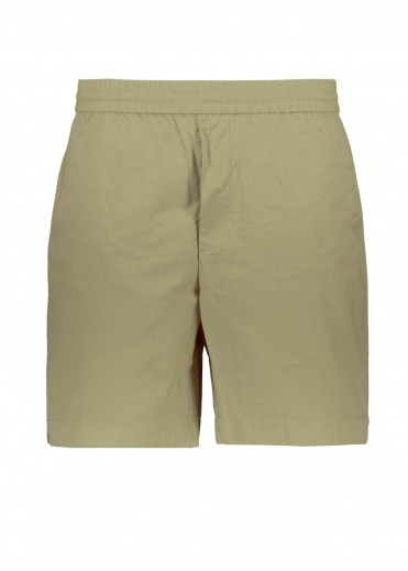 Wood Wood Baltazar Tech Shorts - Dusty Green