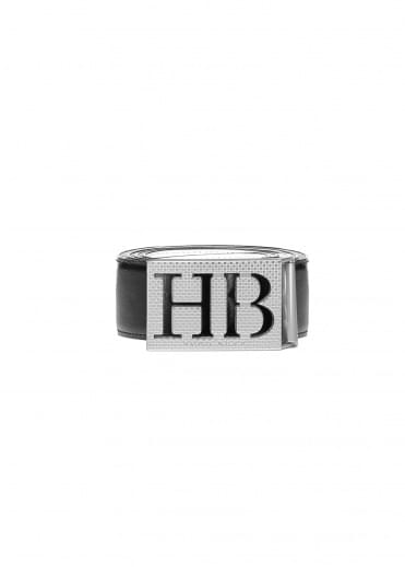 Hugo Boss Balwi Reversible Belt - Black