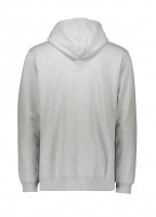 NN07 Barrow Print Hoodie - Light Grey