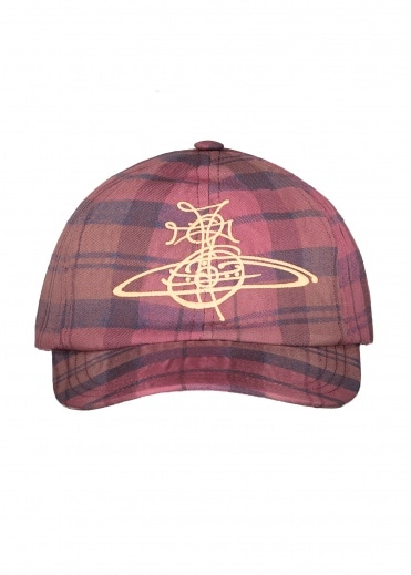 Vivienne Westwood Accessories Baseball Hat - Burgundy