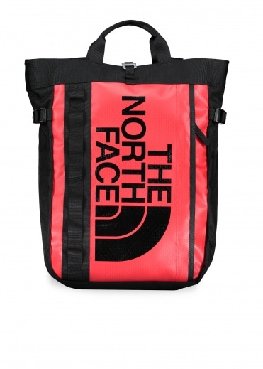 North Face Basecamp Tote - Red