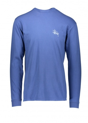 Basic Stussy Pigment Dyed Long Sleeve T-Shirt