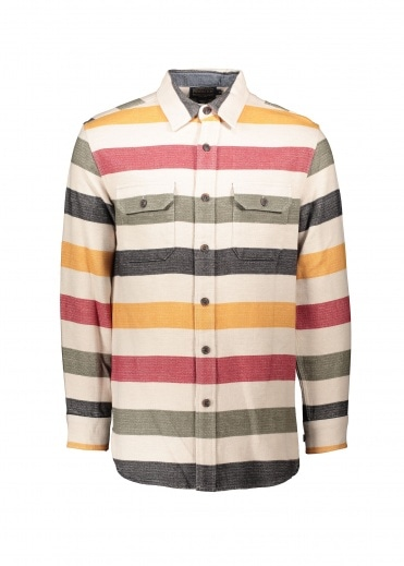 Pendleton Beach Shirt - Glacier Stripe