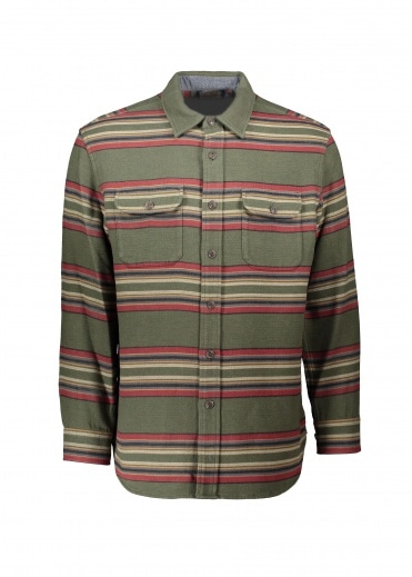 Pendleton Beach Shirt Green Heather Stri