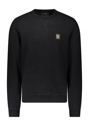 Belstaff Patch Logo Sweatshirt - Black