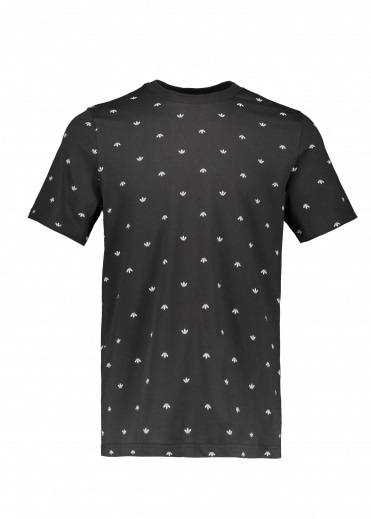 Adidas Originals Apparel BF AOP Tee - Black