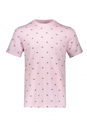 Adidas Originals Apparel BF AOP Tee - Pink