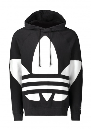 adidas Originals Apparel BG Trefoil Hood Black/White S