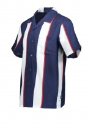 Big Stripe Shirt - Navy