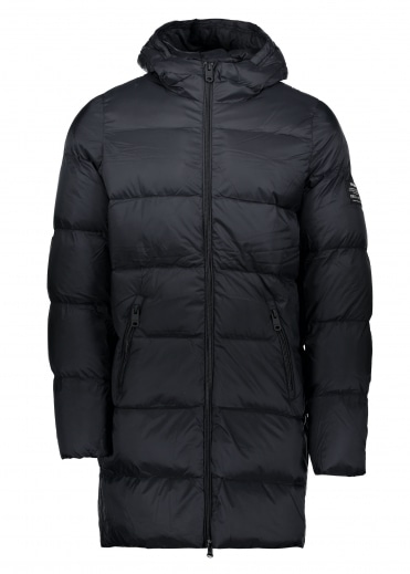 ECOALF Bill Down Coat - Black
