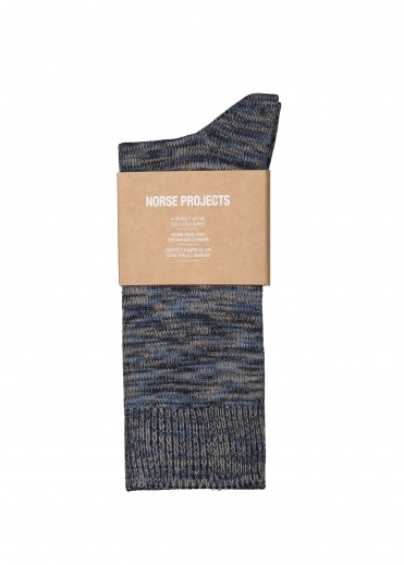 Norse Projects Bjarki Blend Ensign - Blue