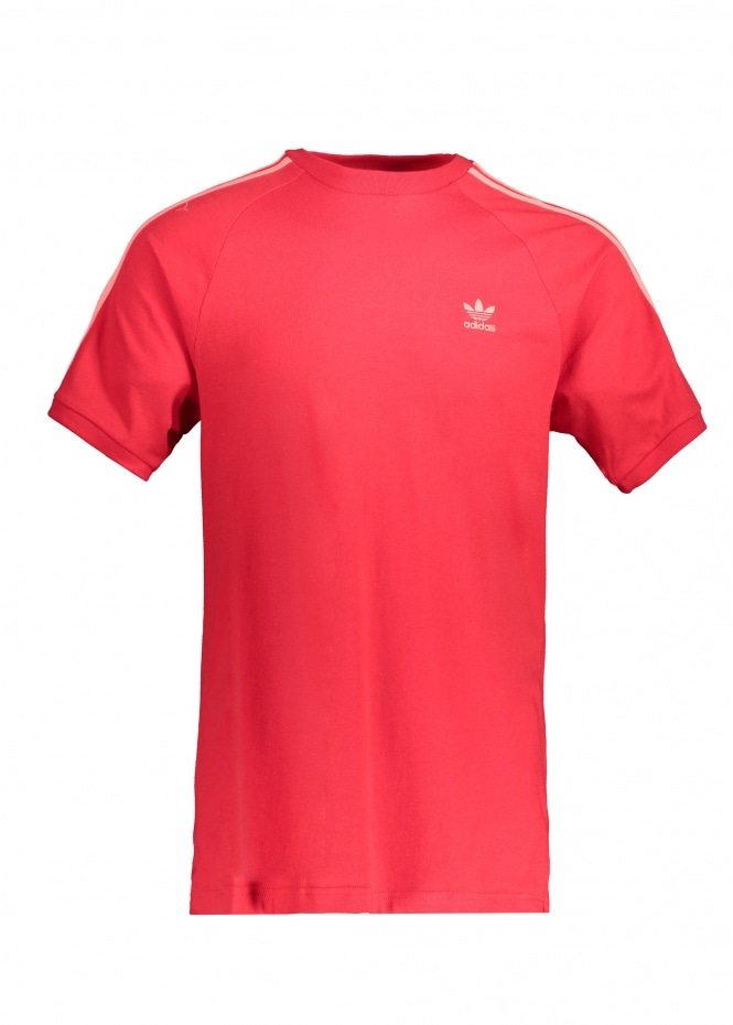 adidas Originals Apparel BLC 3-S Tee - Scarlet