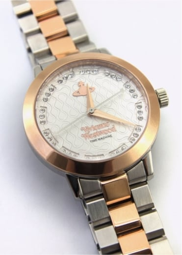 Vivienne Westwood Anglomania Bloomsbury Watch Silver/Rose