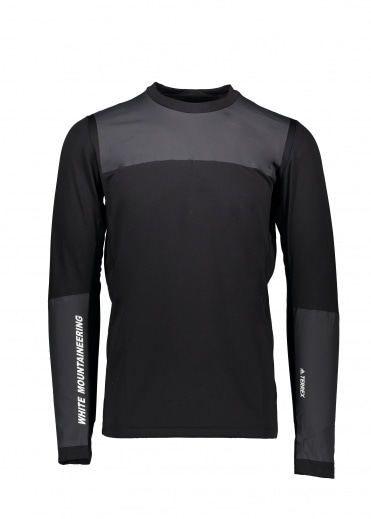 White Mountaineering  Bonded Top - Black