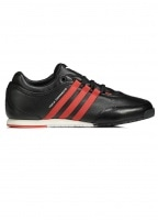 Boxing Trainers - Black / Red