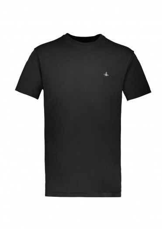 Vivienne Westwood Mens Boxy T-Shirt - Black