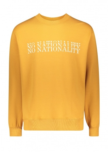 NN07 Brody Sweatshirt - Warm Yellow