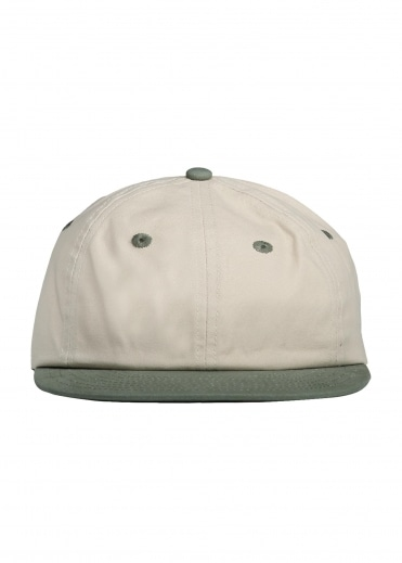 Satta Canvas Cap - Calico / Green