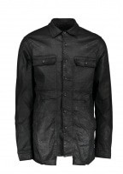 Cargo Pocket Shirt - Black Wax