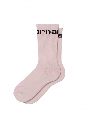 Carhartt Socks - Frosted Pink