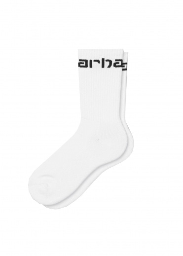 Carhartt Socks - White / Black