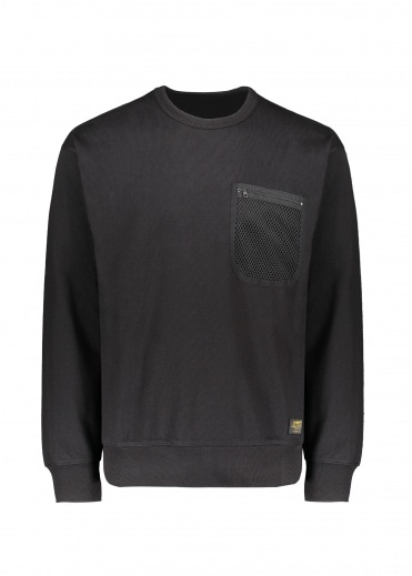 Carhartt Military Mesh Pocket Sweat - Black