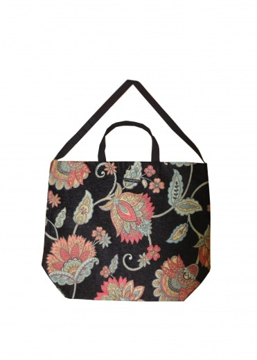 Engineered Garments Carry All Tote Black - Floral