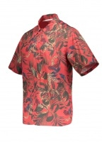 Carsten Print Shirt - Askja Red