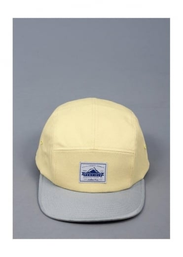 Penfield Casper CB 5 Panel Camp Cap - Lemon
