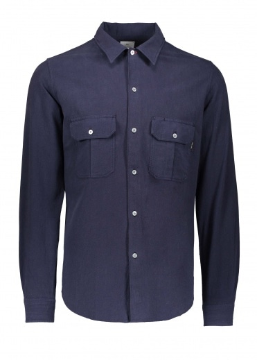 Paul Smith Casual Fit LS Shirt - Dark Navy