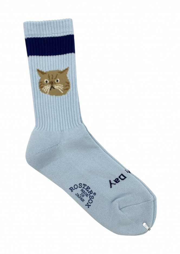 Rostersox Cat Socks - Blue