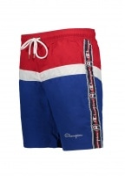 Champion Beach Shorts - Red / Blue