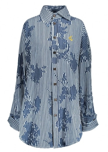 Vivienne Westwood Anglomania Chaos Shirt Print - Rose Stripe