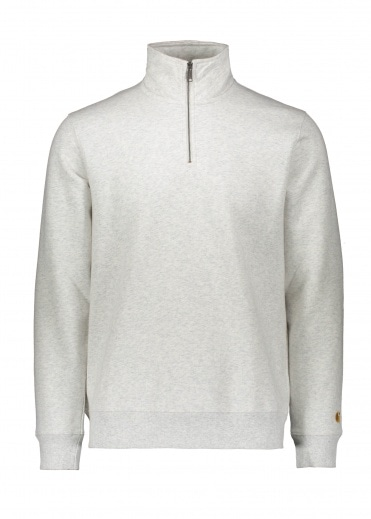 Carhartt Chase Highneck - Ash Heather / Gold