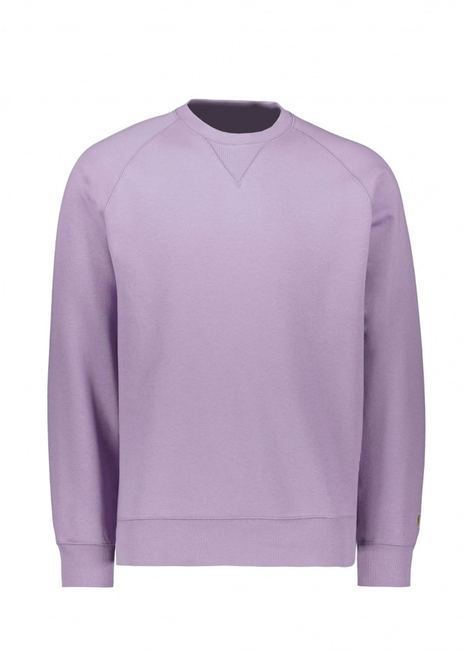 Carhartt Chase Sweat - Provence / Gold
