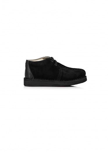 Clarks Originals Childs Desert Trek - Black Suede