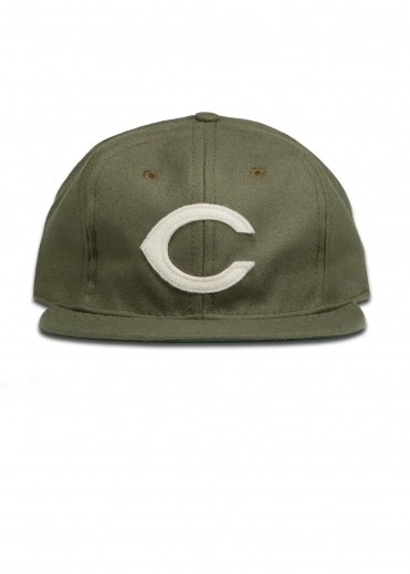Ebbets Field Flannels Chorizeros 1953 6 Panel Cap - Olive