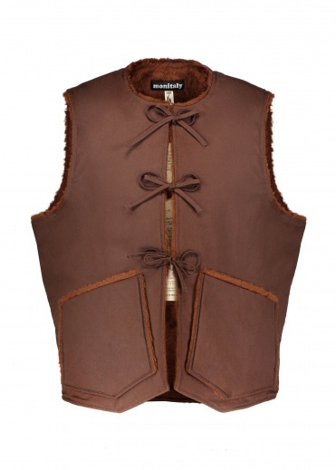 Monitaly Cincho Vest - Brown