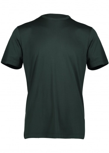 Sunspel Classic Crew Tee - Bottle Green
