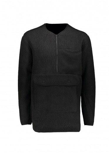 Snow Peak Classic Fleece Pullover - Black