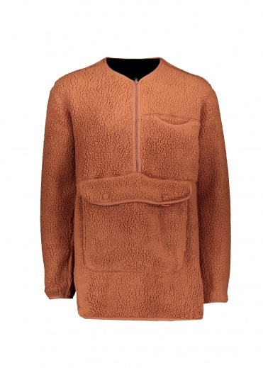 Snow Peak Classic Fleece Pullover - Orange