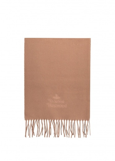 Vivienne Westwood Accessories Classic Scarf - Camel