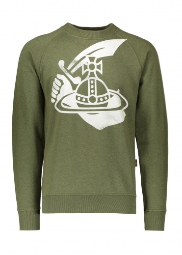 Vivienne Westwood Anglomania Classic Sweatshirt - Green