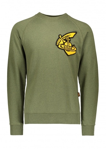 Vivienne Westwood Anglomania Classic Sweatshirt Patch - Green